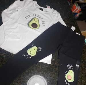 New Justice Avocado Outfit